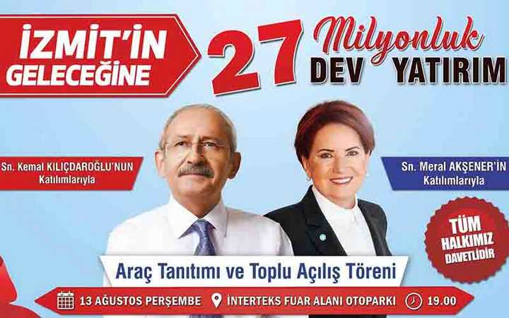 Kılıçdaroğlu ve Akşener geliyor