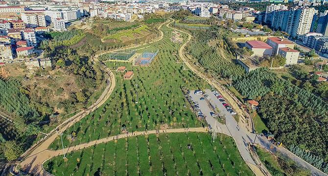 Kişi başı 12,57 metrekare yeşil alan