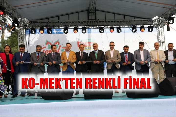 KO-MEK'ten renkli final