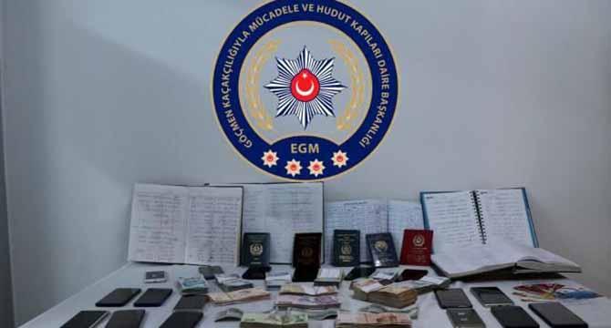 Kocaeli'de insan kaçakçılığı yapan örgüte operasyon!