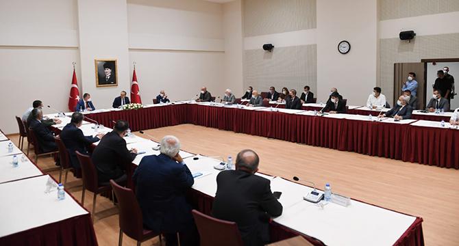 Kömürcüler OSB'nin Geleceği Masaya Yatırıldı