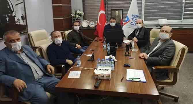 KTO'da Kasım Ayı Meclis Toplantısı Yapıldı