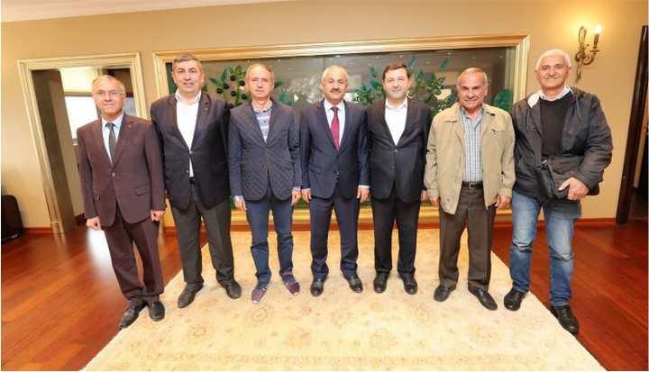 MARTEK Başkanı Okur'dan  Başkan'a Hayırlı Olsun Ziyareti