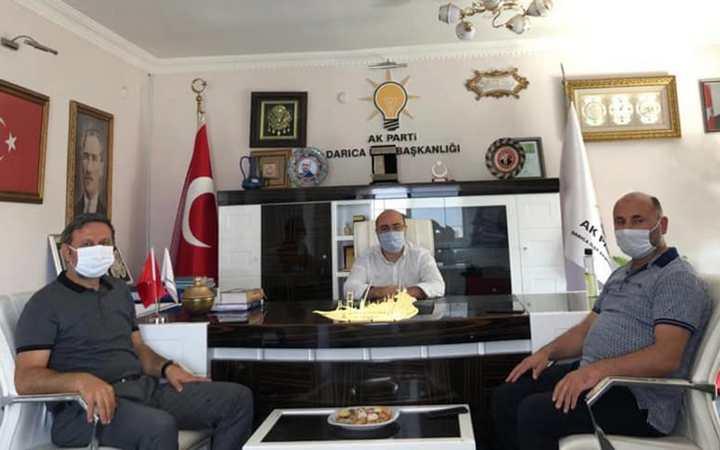 Mehmet Akif Yılmaz'dan Acay'a ziyaret!