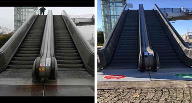 Merdivenlere bakım yapılacak
