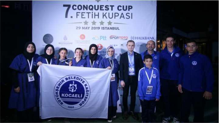 Meryem, 7. Fetih Kupası'ndan bronz ile döndü