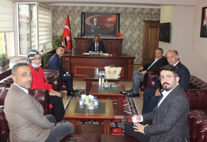 MHP Gebze İlçe Yönetiminden Kaymakam Güler'e Ziyaret