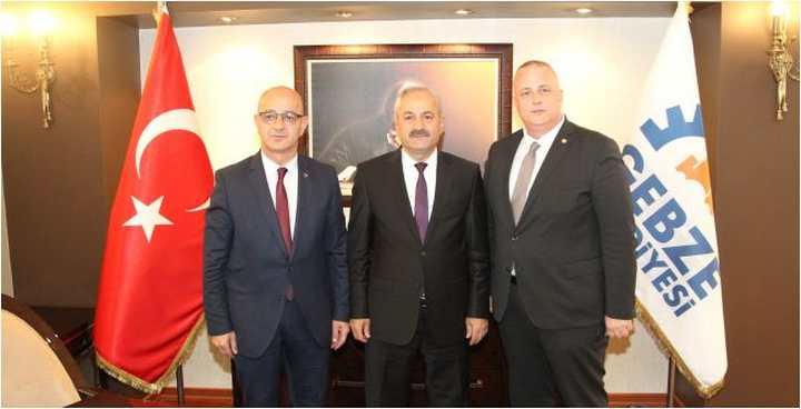 MHP İl Başkanı Ünlü'den  Hayırlı Olsun Ziyareti