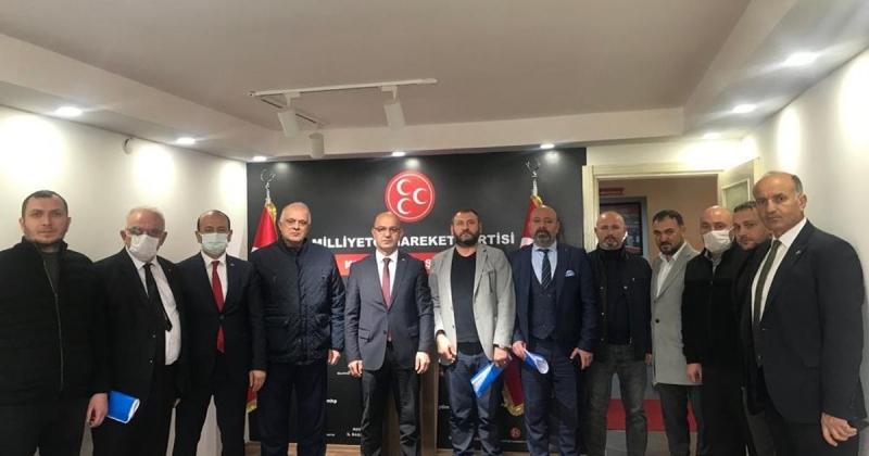 MHP kurultay öncesi toplandı