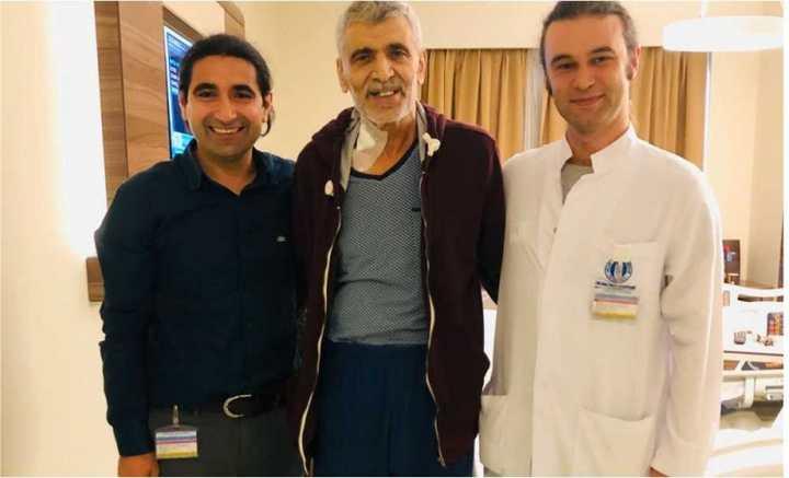 Mide Kanserinden Kapalı Yöntem Ameliyat ile Kurtuldu!