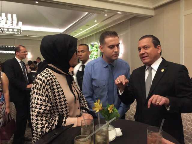 Milletvekili Katırcıoğlu,  Panama ve Kolombiya'da FETÖ'yü anlattı