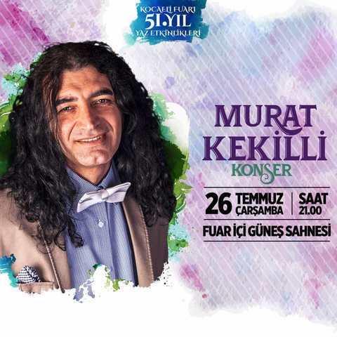 Murat Kekilli, Kocaelili hayranları için söyleyecek