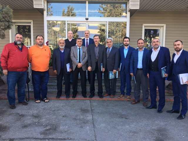 Müsiad Gebze'den Kardeşler Galvanize Ziyaret
