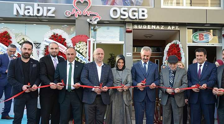 Nabız OSGB ye Görkemli Açılış