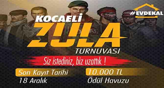 Ödüllü Zula Turnuvası'nın kayıt süresi uzatıldı