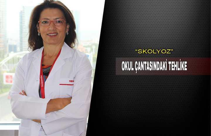 """OKUL ÇANTASINDAKİ TEHLİKE """"SKOLYOZ"""""""
