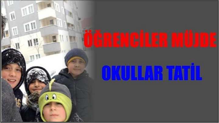 Okullar TATİL