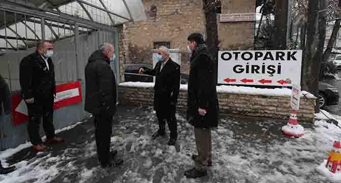 Otopark Gebze Belediyesi'ne devredildi
