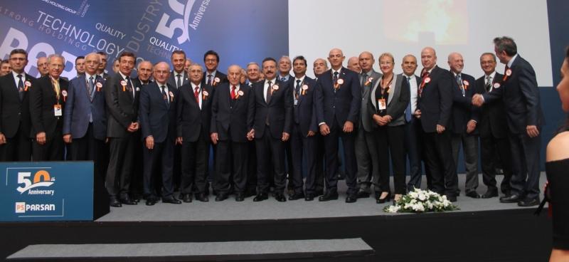 PARSAN'ın sektördeki 50. yılı kutlandı