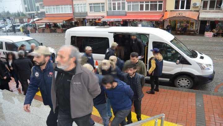 PKK/KCK operasyonunda tutuklama