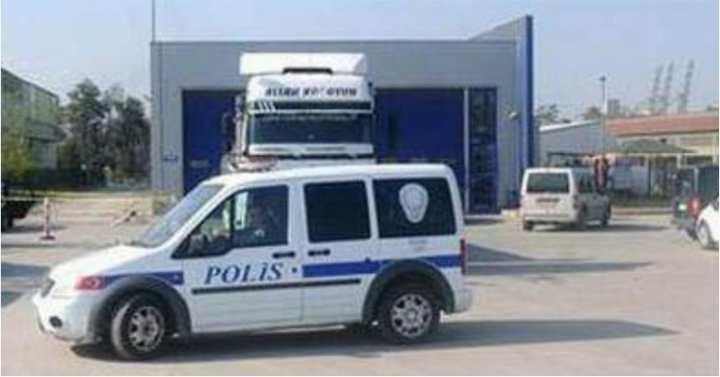POLİS EKİPLERİ İŞ BAŞINDA