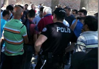 POLİS İZİN VERMEDİ
