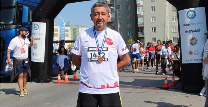 Rıdvan Şükür, Eskişehir Yarı maratonunda Koştu1