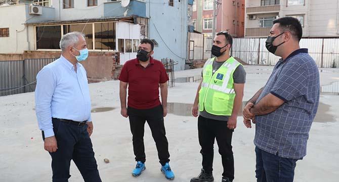 Sarı Cami Meydan Projesi Büyükgöz'ün takibinde
