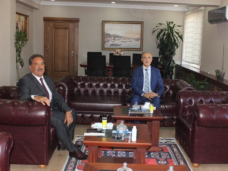 Savunma Sanayii Başkanı Demir, Kaymakam Güler'i Ziyaret Etti