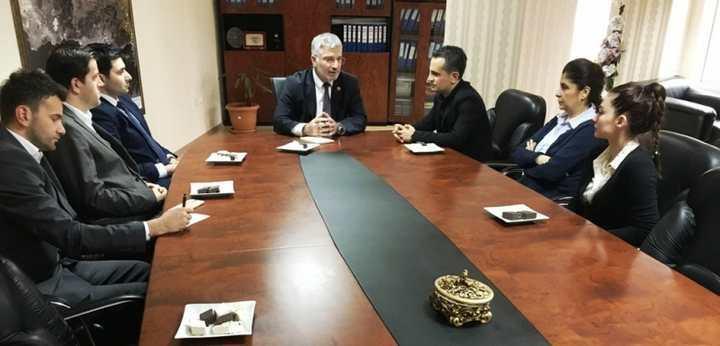 Şehir Plancıları'ndan Başkan Vekili Özak'a Ziyaret