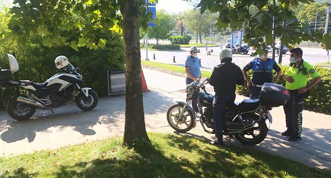Sekapark'ta motosiklet kullanımına 7/24 sıkı denetim