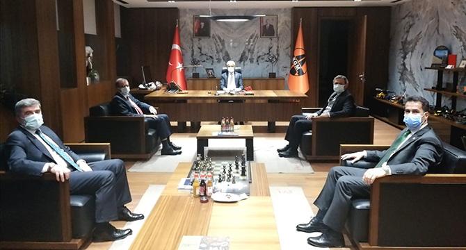 """ŞEKER: """"KOCAELİ'MİZ İÇİN ELİMİZDEN GELENİN FAZLASINI YAPACAĞIZ!"""""""