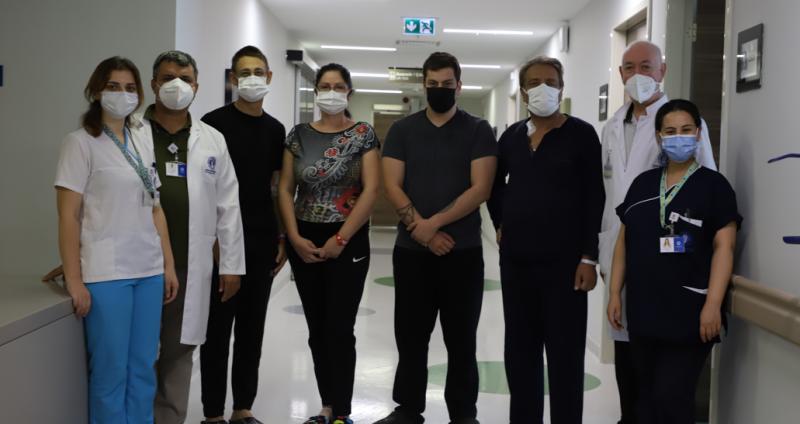 Sırbistanlı aile Organ Nakli İçin Türkiye'yi Seçti!
