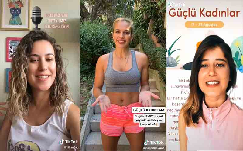 Sporcu kadınlar ilham veriyor