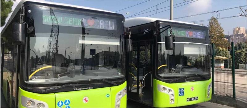tabelalı otobüsler