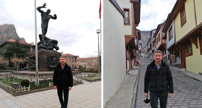 Tarihçi Rıdvan Şükür, adım adım Afyon sokaklarını gezdi