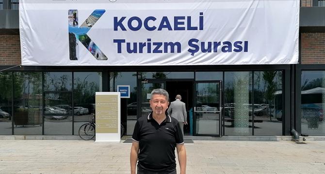 Tarihçi Şükür, Kocaeli Turizm Şurasına katıldı