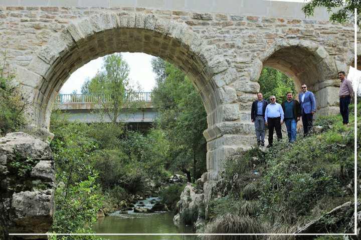 Tarihi Taşköprü'de  restorasyon tamam