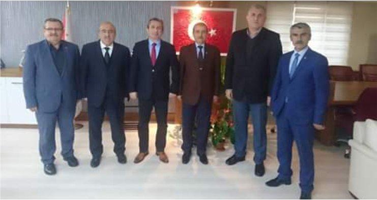 Taşdemir'den Murat Şekeri makamında ziyaret