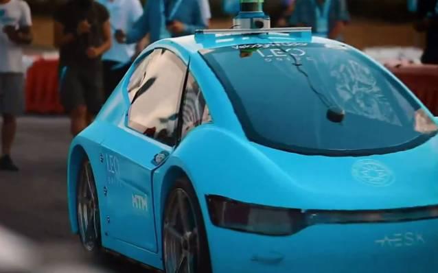 TEKNOFEST'te robotaksiler yarışıyor
