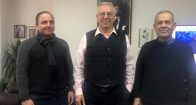 TGF'den Orhan Uğuroğlu'na ziyaret
