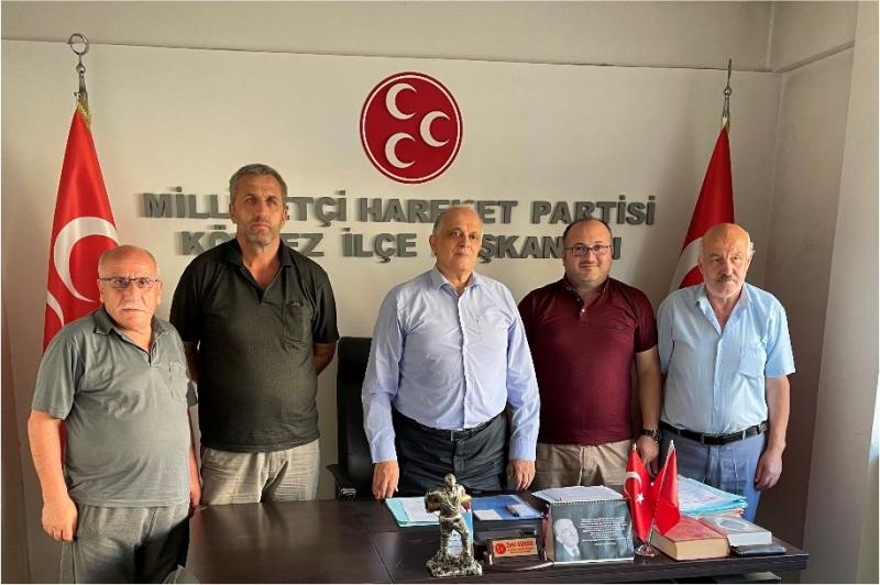 Trabzon Derneğinden MHP'ye Ziyaret