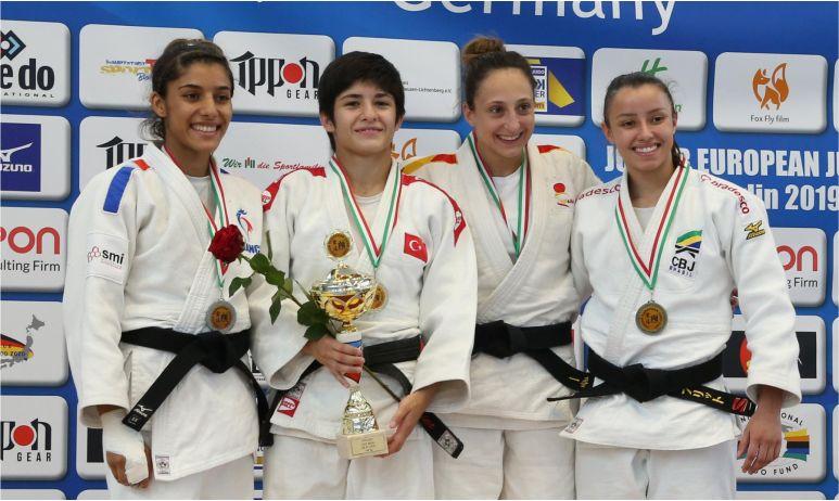 Tuğçe'den Avrupa Şampiyonluğu