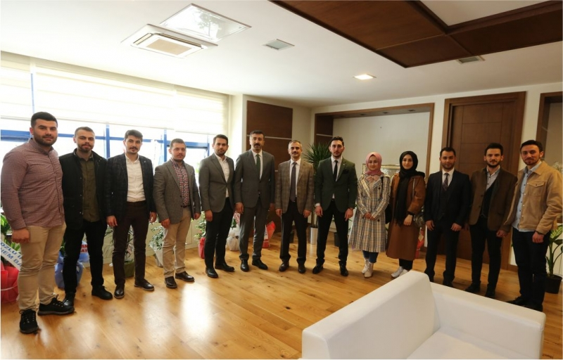 TÜGVA'dan Başkan Çiftçi'ye Ziyaret