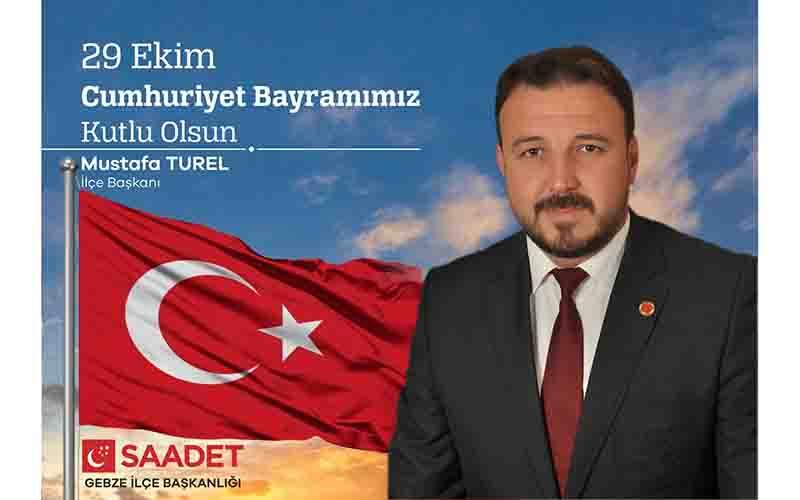 Türel 29 Ekim Cumhuriyet Bayramı'nı kutladı