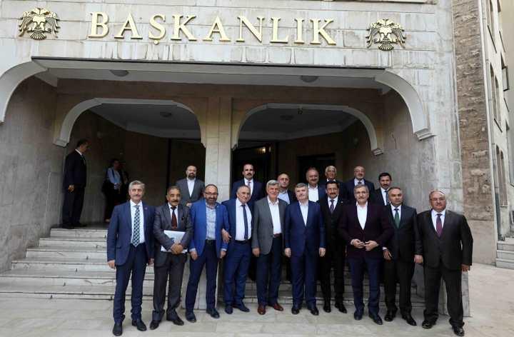 Türk Dünyası Konya Selçuklu'da toplandı