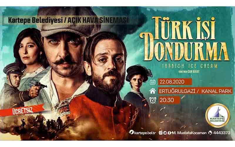 """""""TÜRK İŞİ DONDURMA"""" SİNEMA GECESİ"""