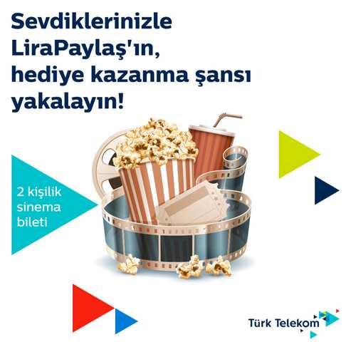 Türk Telekom'la 'Lira Paylaşanlar' Şimdi Sinemalarda!