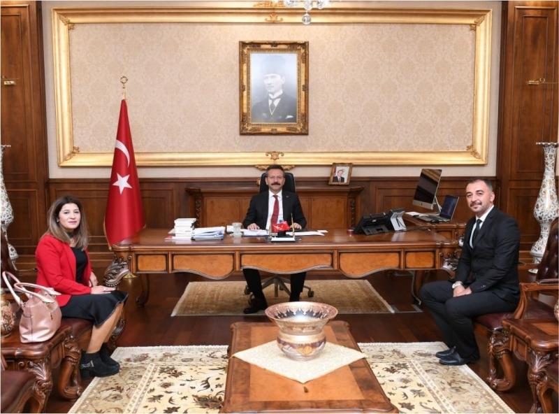 Türkiye Disleksi Vakfı Kocaeli Yönetimi Sayın Valiyi Ziyaret Etti