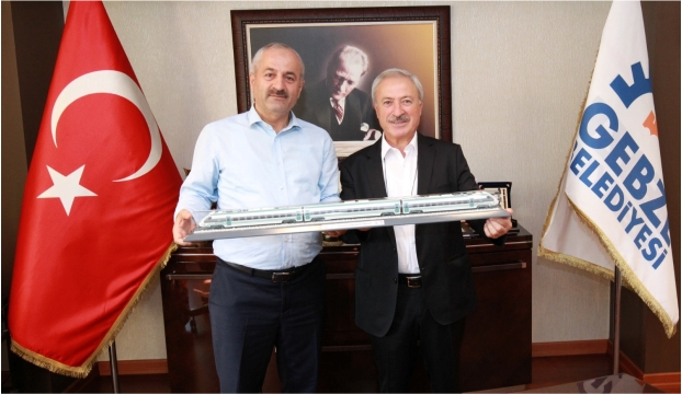 TÜVASAŞ'TAN BAŞKAN'A ZİYARET